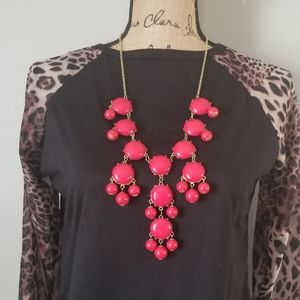 🧡3/$20 NWT Chandelier Red Drop Necklace